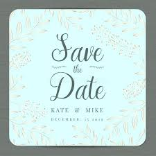 Save The Date Card Template Three Free Word Templates Perfect For