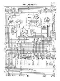 chevy wiring diagrams 1957 car 6 cylinder wiring