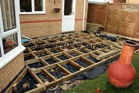 Small Picture Small Garden Deck Wooton PEG Services