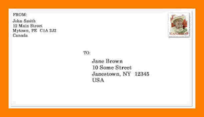 how to format a mail letter mailing letter format how to send in the mail a letter format