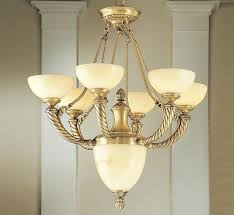alhambra collection 7 light large alabaster chandelier