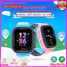 Đồng hồ định vị trẻ em Y92 Có Tiếng Việt, Wifi Lắp Sim Nghe Gọi Hai Chiều - Đồng  Hồ Thông Minh Trẻ Em