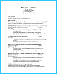 Current College Student Resume Examples 20794 Densatilorg