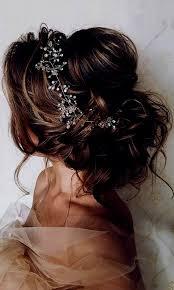 Coiffure Mariage Fleur Cheveux Chignon Mariee Les Plus