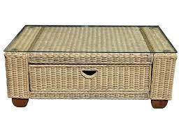 round rattan coffee table. Round Rattan Coffee Table Wicker Reclaimed Wood Industrial