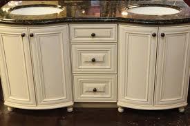 rustic white bathroom vanities. 63 Double Sink Antique White Bathroom Vanity Quot Thousand Oaks Rustic Vanities