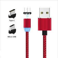 Micro Usb Design Micro Usb Type C Nylon Braid Cable 360 Degree Magnetic