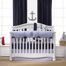 nursery beddings teal anchor baby bedding with anchor crib sheet