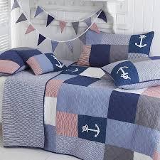 patchwork quilts | notonthehighstreet.com & Sidmouth Nautical Patchwork Bedspread - winter sale Adamdwight.com