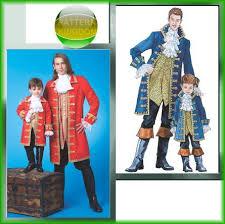 Pirate Costume Pattern Adorable McCalls 48 Blackbeard Pirate Costume Sea Captain Patterns