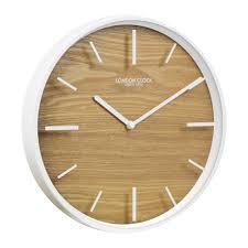 White Kitchen Wall Clocks Buy Kitchen Wall Clocks Online Purely Wall Clocks