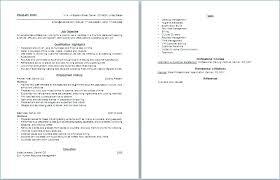 Sample Waiter Resume Letter Resume Directory