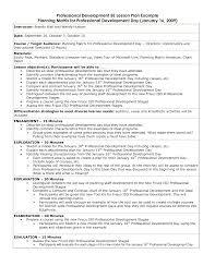 professional development plan sample cougfan professional development plan sample