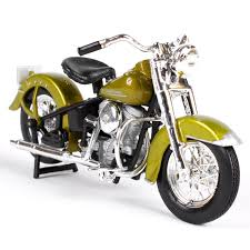 maisto 1 18 1953 74fl hydra glide motorcycle bike model new in box