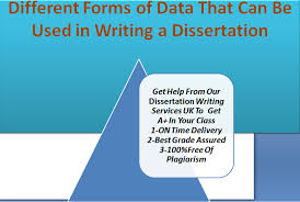 different forms of data that can be used in writing a dissertation  teachers assign dissertation writing tasks to students because they want to check out their research as well as writing skills and how they incorporate the