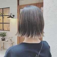 浦川 由起江さんのヘアスタイル 切りっぱなしボブ ハイラ Tredina