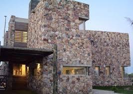 Revestimiento De Fachadas Colocación Manual Piedra Muros De PiedraFachada De Piedra Natural