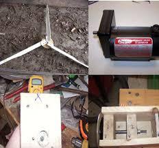homemade electric generator. A Homemade Wind Turbine Electric Generator