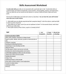 Job Evaluation Template job assessment template - Kleo.beachfix.co