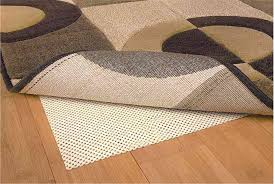 awesome 5 8 rug pad for comfortable area rug decor ivory non slip 5