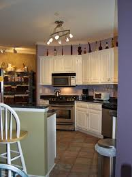 decorative kitchen lighting. Full Size Of Amazing Kitchen In Purple Nuance White Wooden Varnished Cabinet Beige Ceramic Laminate Decorative Lighting N
