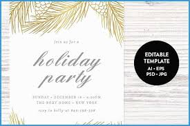 Company Christmas Party Invite Template Company Christmas Party Flyer Template Free Lovely Holiday Party