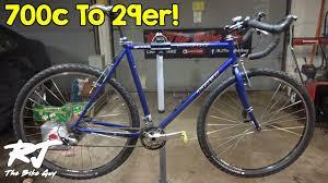 700c To 29er Wheel Conversion Diy Gravel Bike Update