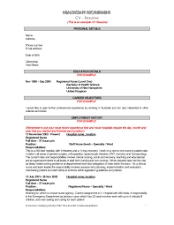 Resume For Nurses How to Write Successfully in High School and College resume 38