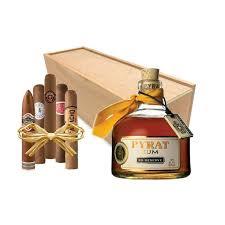 cigar gift set minibar bottle