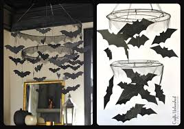 supplies needed to make your own diy bat chandelier