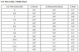 shoe size chart width how to check to see if your feet are wide or narrow leaftv