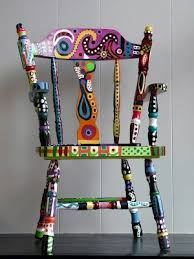 colorful painted furniture. Adding Color With Painted Furniture | Tevami.com Inspirational Unique Designs. Colorful