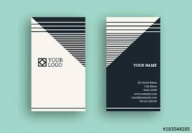 Stripe Templates Black And White Stripe Business Card With Diagonal Elements Buy