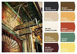 New Orleans Preservation Hall Color Palette Inspiration Chip It! By  Sherwin Williams U2013 ChipCard By Christy C.