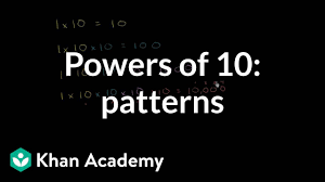 Using Exponents With Powers Of 10 Video Khan Academy