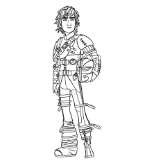 Chronicles the adventures and misadventures of hiccup horrendous haddock the third as he tries to pass the important initiation test of his viking clan, the tribe of the hairy hooligans, by catching and training a dragon. How To Train Your Dragon Coloring Pages Free Printable