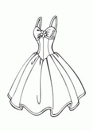 Wedding Dress Coloring Page Inside Pages Saglikme