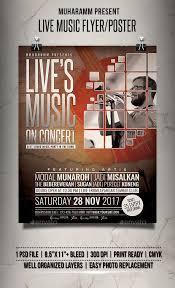 Apple Flyer Templates Live Music Flyer Poster Music Live Poster Flyer Apple