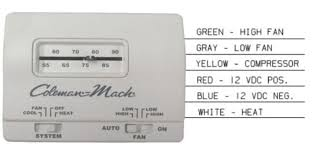 coleman mach thermostat wiring coleman image coleman mach rv thermostat wiring diagram diagram on coleman mach thermostat wiring