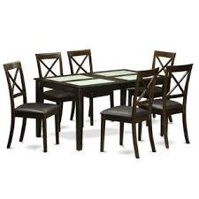 cabos 7 piece dining set by east west furniture