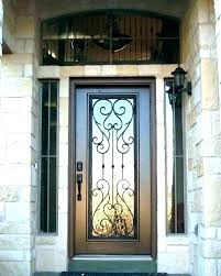 metal and glass front doors iron and glass front doors wrought iron front entry doors front
