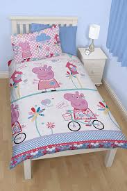 Peppa Pig Bedroom Stuff Character World Peppa Pig Funfair 135 X 200 Cm Single Rotary Duvet