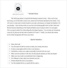 narrative essay format elegant sample resume writing format for essay outline sample