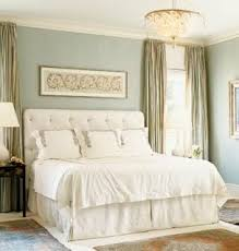 Another blue bedroom that looks very tranquil -