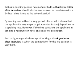 thank you letter after interview sending a thank you after an interview coles thecolossus co