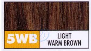 Color Permanent Cream Hair Light Warm Brown Sophie