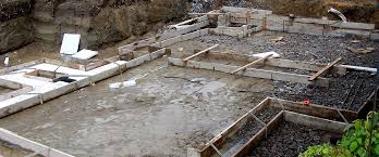 slab on grade or foundation and