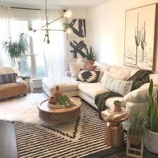 boho living room apartment decor