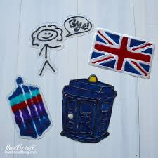 diy doctor who gallery glass window clings post is brought to you with products from plaid crafts as a brand ambassador