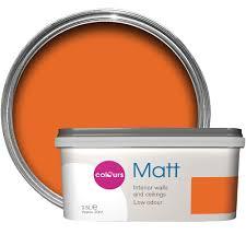 orange wall paintOrange Wall Paint  DIY